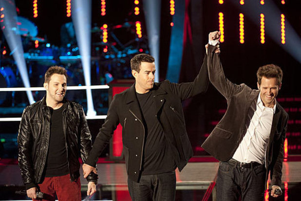 The Voice - Battle Round - Tony Lucca wins