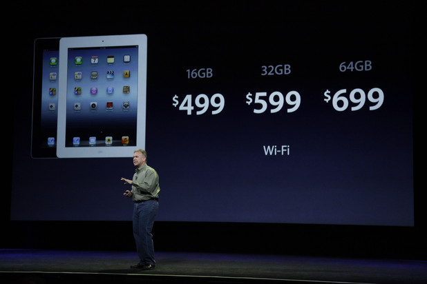 Phil Schiller announces new pricing