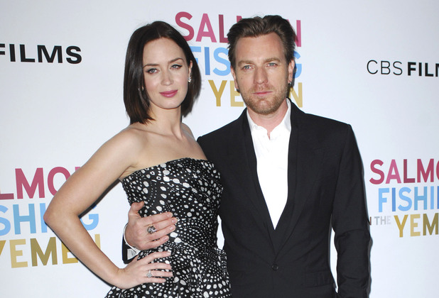 Emily Blunt and Ewan McGregor Los Angeles Premiere of 'Salmon Fishing In The Yemen' - Arrivals Los Angeles, California