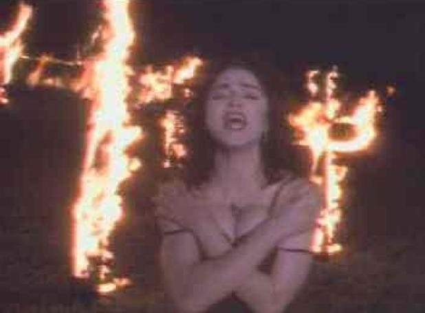 'Like A Prayer' video still