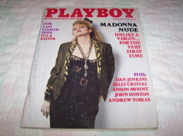 Madonna in Playboy 1985