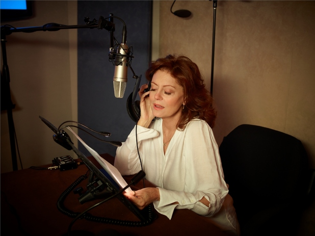 Susan Sarandon recording The Member of the Wedding by Carson McCullers for audible.co.uk