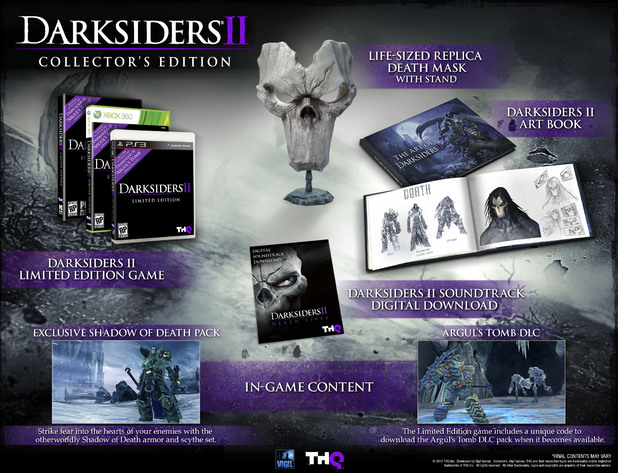 'Darksiders 2' Limited and Collector's Edition