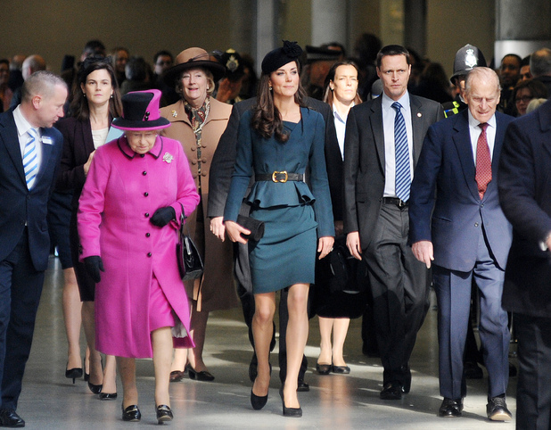 Kate Middleton, The Queen and Prince Philip