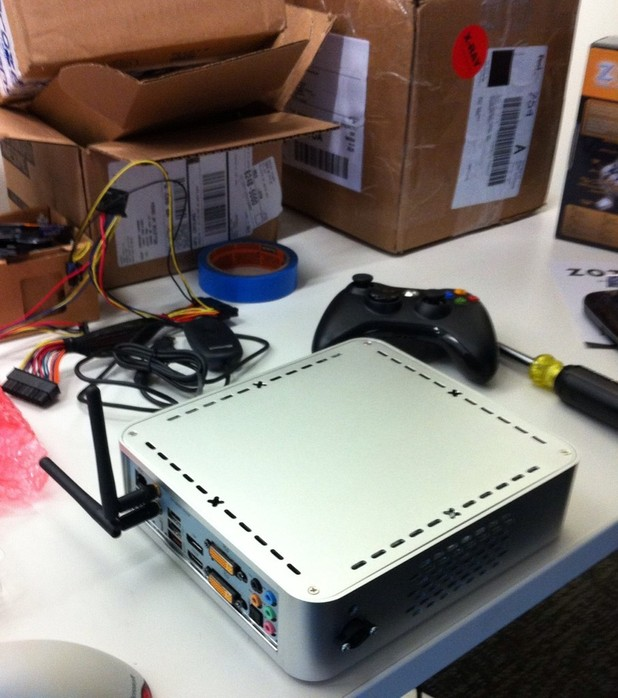 Valve Steam Box prototype