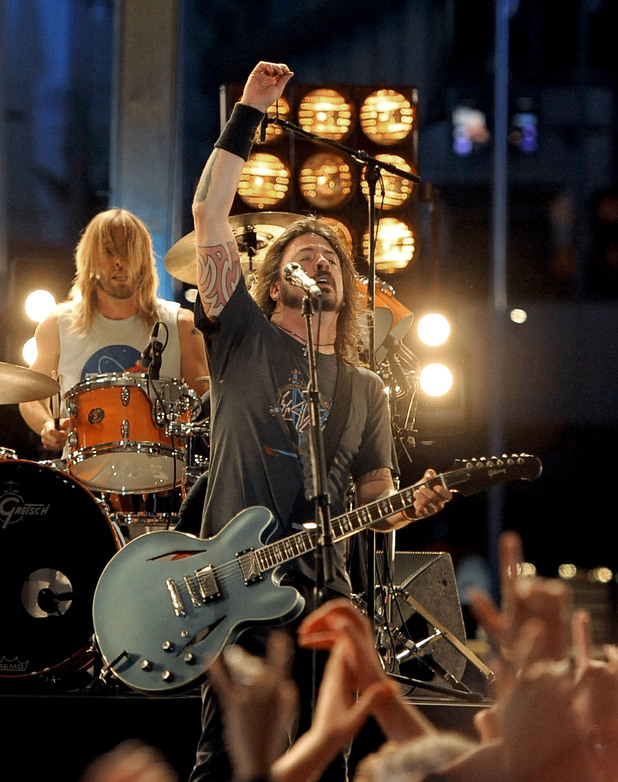 Dave Grohl of Foo Fighers