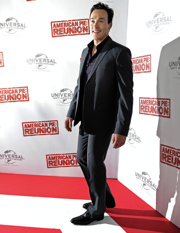 chris klein american reunion australian premiere digital spy. Black Bedroom Furniture Sets. Home Design Ideas