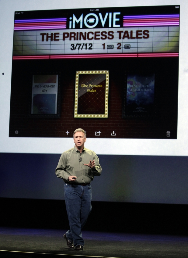 Phil Schiller talks about the new iPad