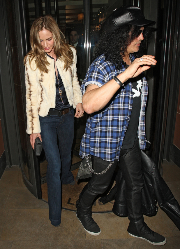 Trinny Woodall and Keanu Reeves - Trinny Woodall & Slash pictures