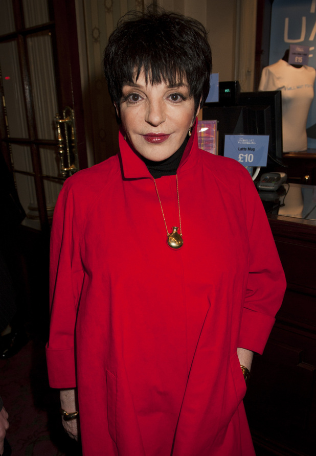 Liza Minnelli - The much-loved singer and actress, daughter of Judy Garland and film director Vincente Minnelli, marks her 66th birthday today (March 12).