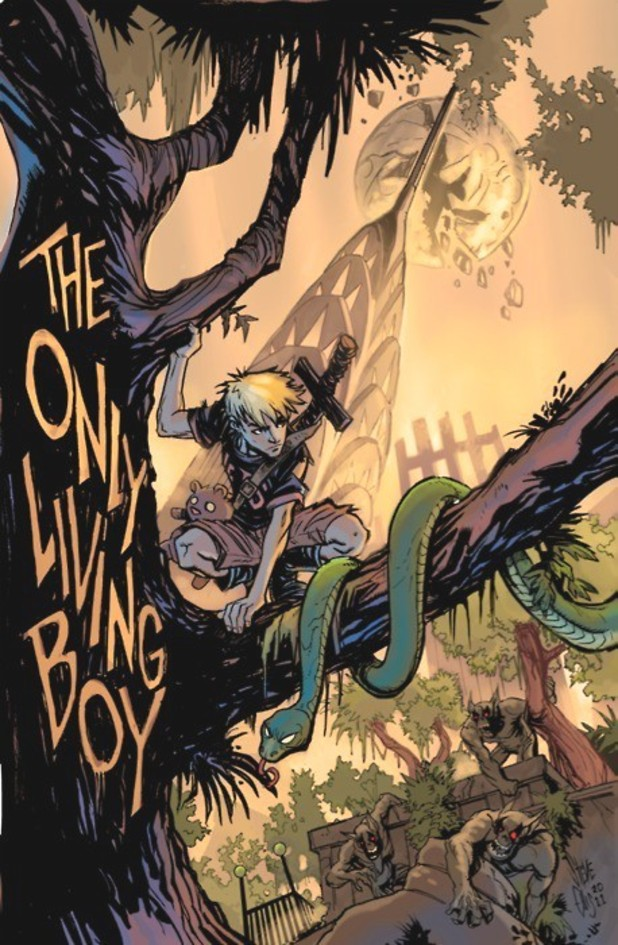 'The Only Living Boy' cover