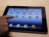 A new Apple iPad on display