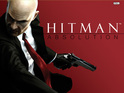 Hitman Absolution cover art features Agent 47 in full action mode.