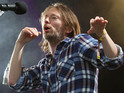 The Radiohead singer distributes new music through the peer-to-peer network.