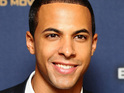 Marvin Humes begins his stag do festivities in Las Vegas with JLS.