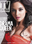Jacqueline Jossa on the cover of TV Buzz