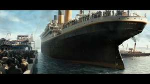 'Titanic' clip: Leaving Port