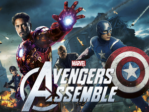 The cast of Avengers Assemble