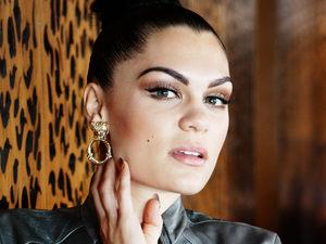 Jessie J photo shoot at The Loft