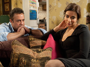 Dev and Sunita discuss the state of their relationship in an effort to try and resolve their differences