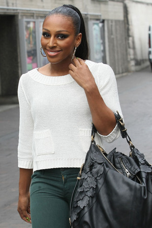 Alexandra Burke at the ITV studios London, England