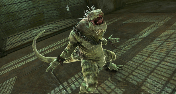 'The Amazing Spider-Man' Iguana