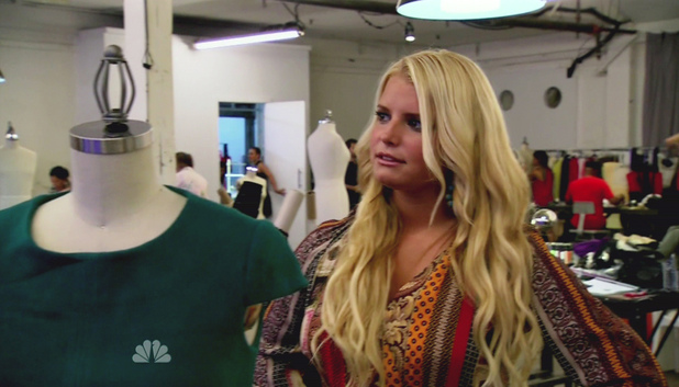 Jessica Simpson NBC's 'Fashion Star' Series Premiere The Contestants must design and create their signature items and pitch them to the buyers