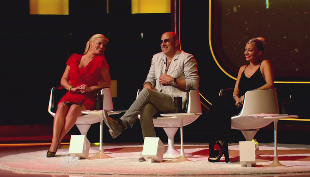 Jessica Simpson, John Varvatos, Nicole Richie NBC's 'Fashion Star' Series Premiere The Contestants must design and create their signature items and pitch them to the buyers