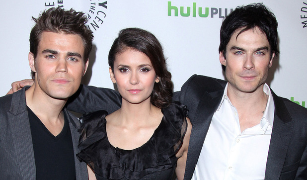 Paul Wesley, Nina Dobrev, Ian Somerhalder, Vampire Diaries