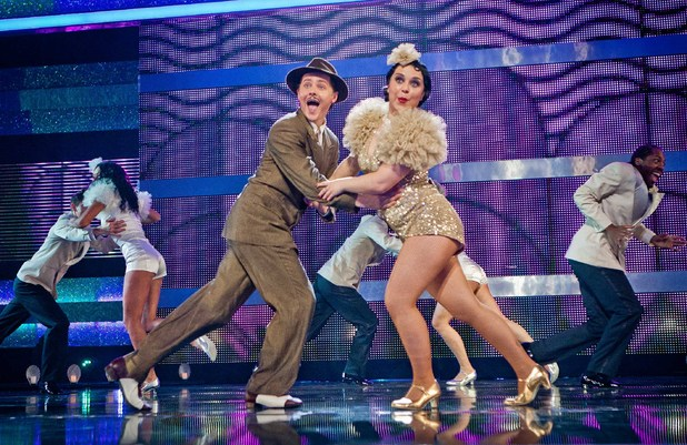 Tyger Drew Honey and Dani Harmer perform to Bugsy Malone