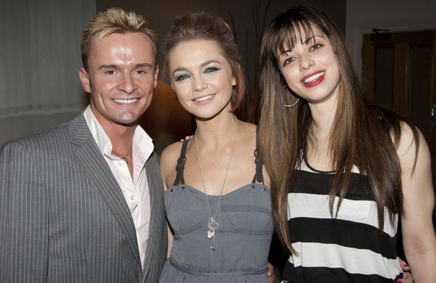 Jon Lee, Hannah Spearritt and Tina Barrett