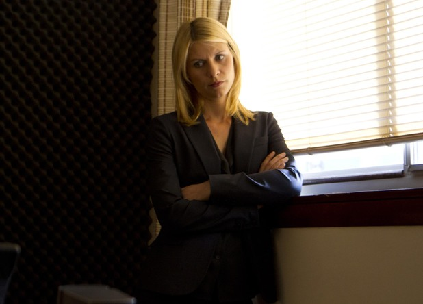 Clare Danes as Carrie Mathison in Homeland episode 5