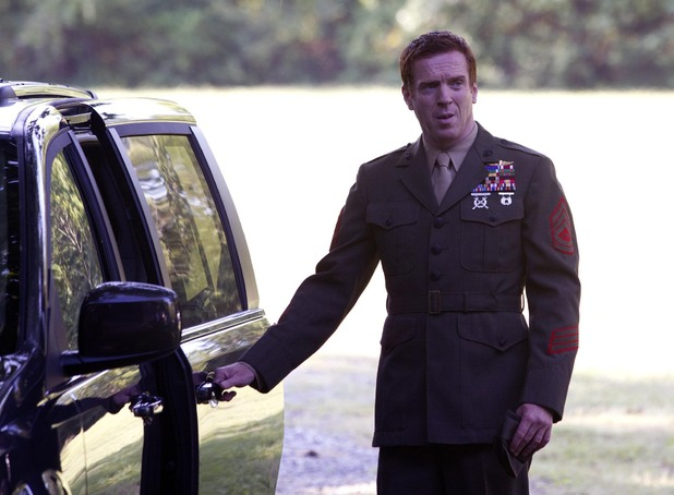 Damian Lewis as Nicholas Brody in Homeland episode 5