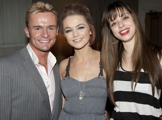 Hannah Spearritt, Jon Lee and Tina Barrett