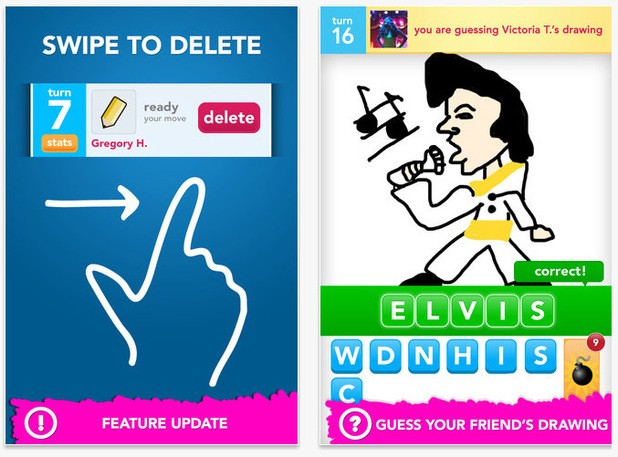 'Draw Something' screenshot