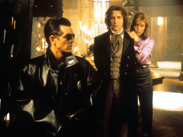 Paul McGann as The Doctor in Doctor Who: The Movie with Daphne Ashbrook