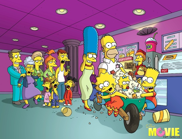 The Simpsons Movie still