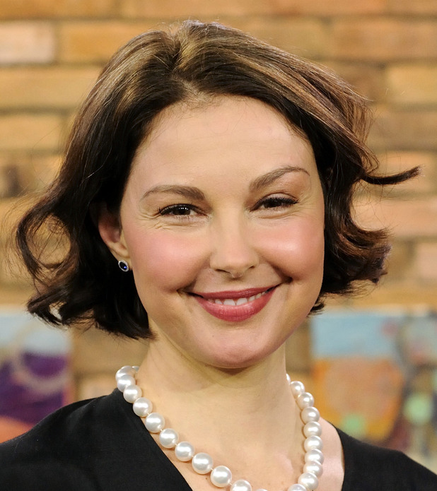 Ashley Judd appears on The Marilyn Denis Show promoting the new TV series 'Missing'. Toronto, Canada