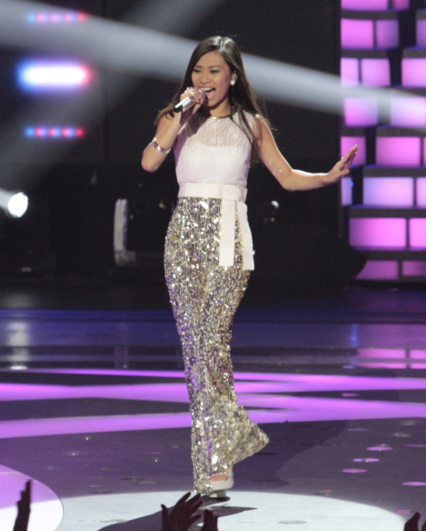 Jessica Sanchez performs