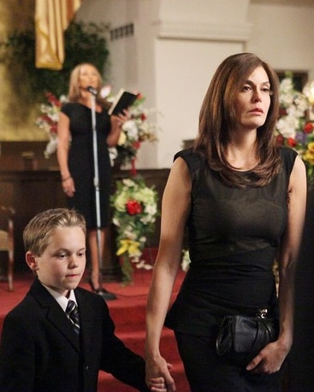 'Desperate Housewives' funeral: Pictures