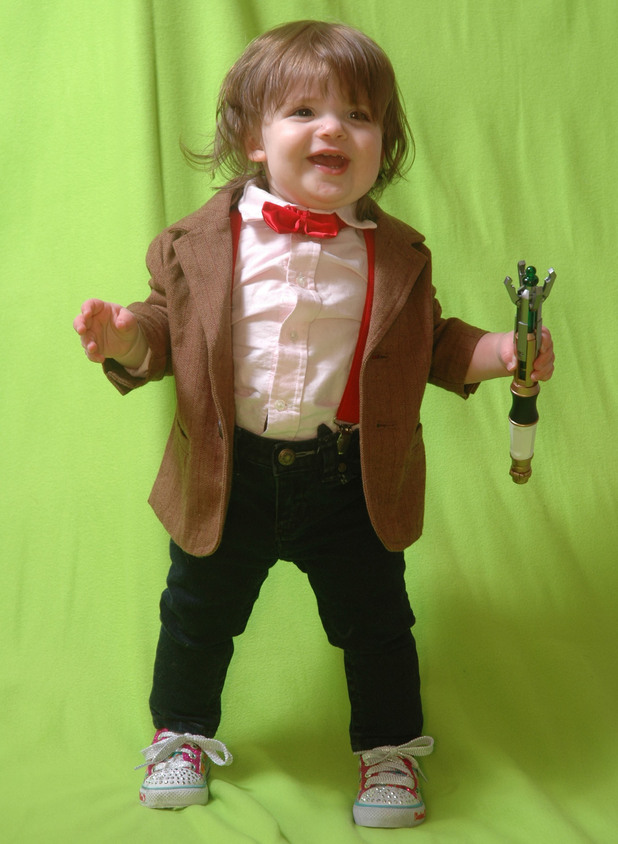 Tiny Doctor Who dress up!