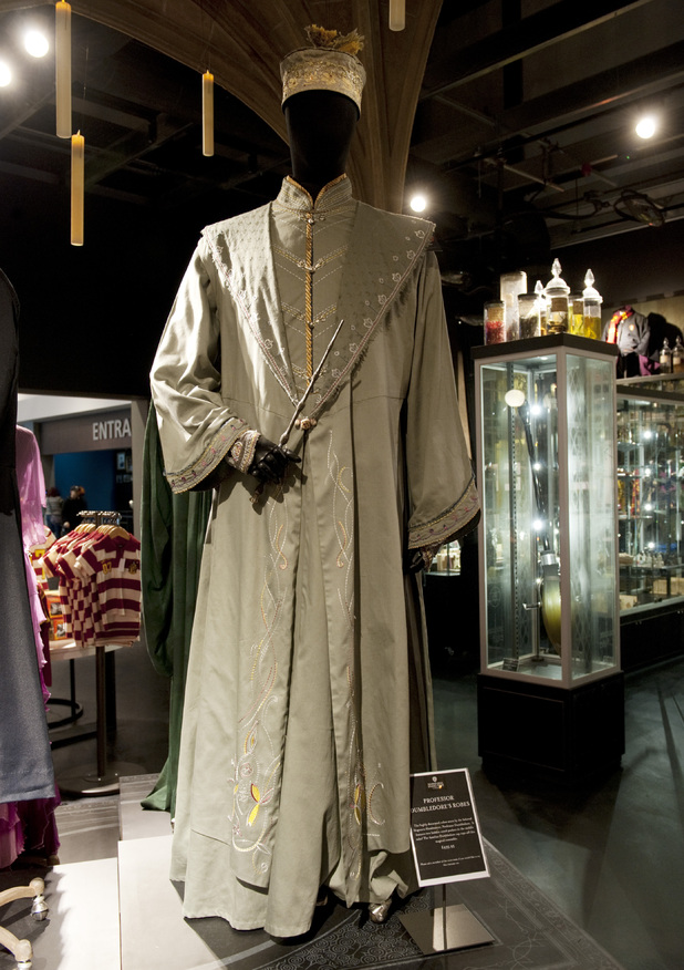 Professor Dumbledore's robes