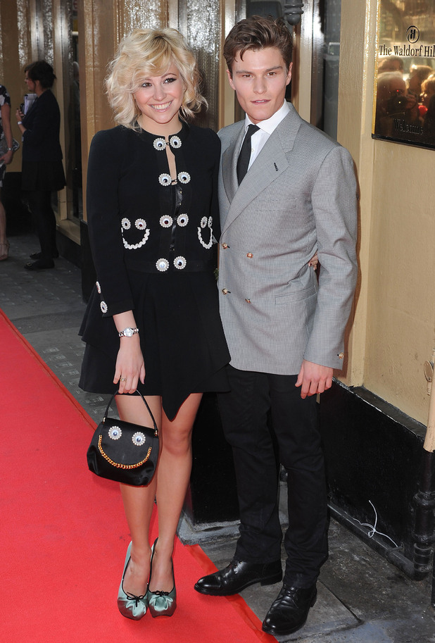 Pixie Lott and Ollie Cheshire