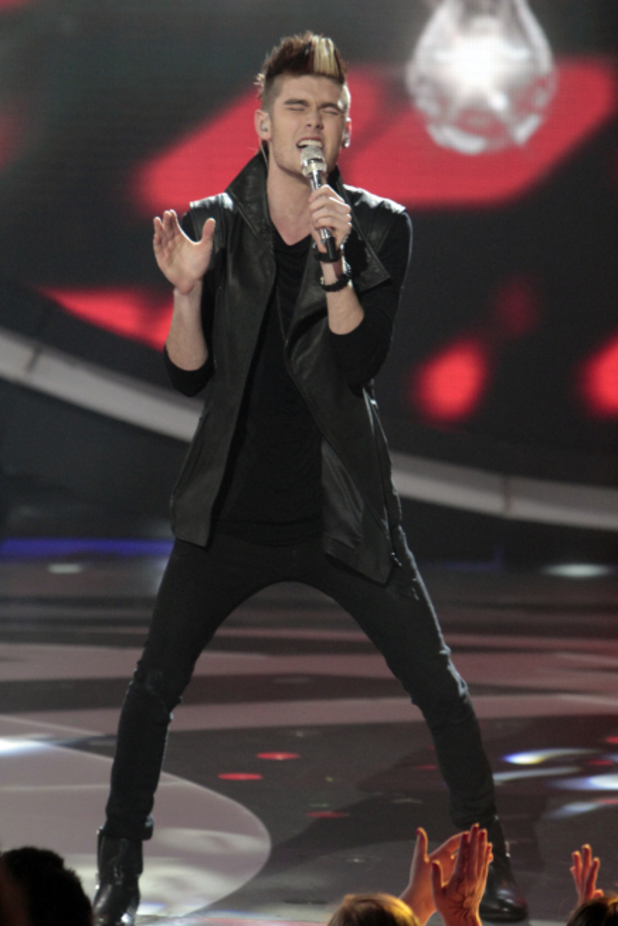 Colton Dixon performs