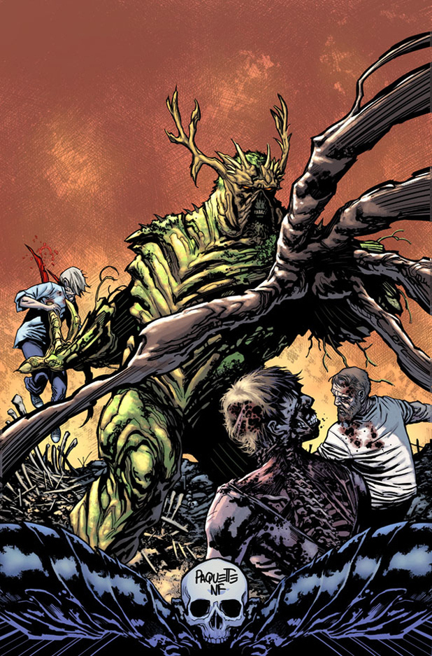 Swamp Thing #8 cover by Alec Holland