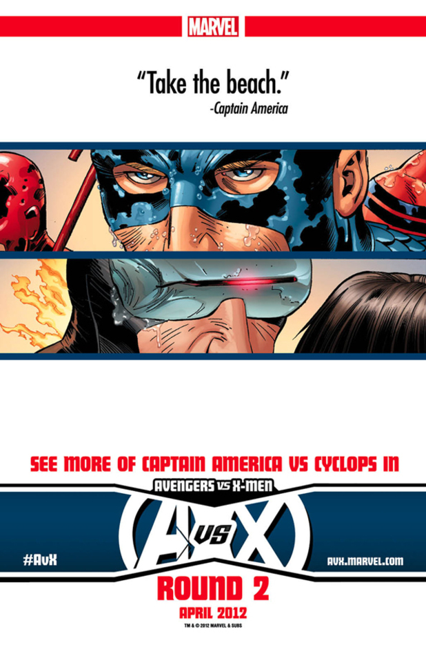 Avengers vs X-men #2 teaser