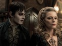 Johnny Depp savours the part of a vampire in his latest film with Tim Burton.