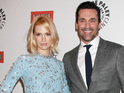 January Jones also opens up about her real-life relationship with Jon Hamm.