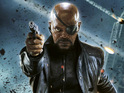 Louis D'Esposito reveals scrapped plans to show the blinding of Nick Fury.