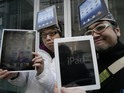 The success of the iPad and an Amazon sales slump gives the firm a 68% share.